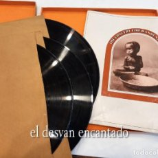 Discos de vinilo: THE CONCERT FOR BANGLADESH. 3 LP EN ESTUCHE. VER FOTOS. Lote 260866290