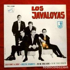 Discos de vinilo: LOS JAVALOYAS (EP. 1964) EVERYTHING'S AL'RIGHT - NUESTRO JURAMENTO - TU NO TIENES CORAZON - NO ME DI. Lote 260880435