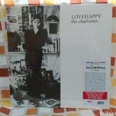 Discos de vinilo: THE CHARLOTTES–LOVEHAPPY. LP VINILO NUEVO PRECINTADO. OFICIAL. Lote 260941485