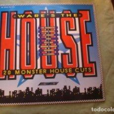 Discos de vinilo: WARE'S THE HOUSE. Lote 261104930