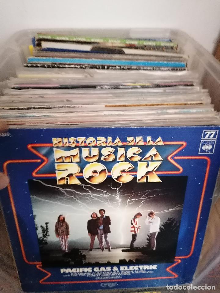 Discos de vinilo: gran caja de discos lote de 105 discos varios estilos todos LP - Foto 2 - 261105850