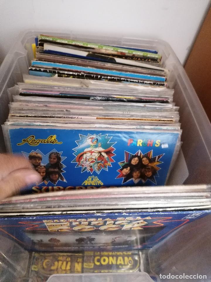 Discos de vinilo: gran caja de discos lote de 105 discos varios estilos todos LP - Foto 6 - 261105850