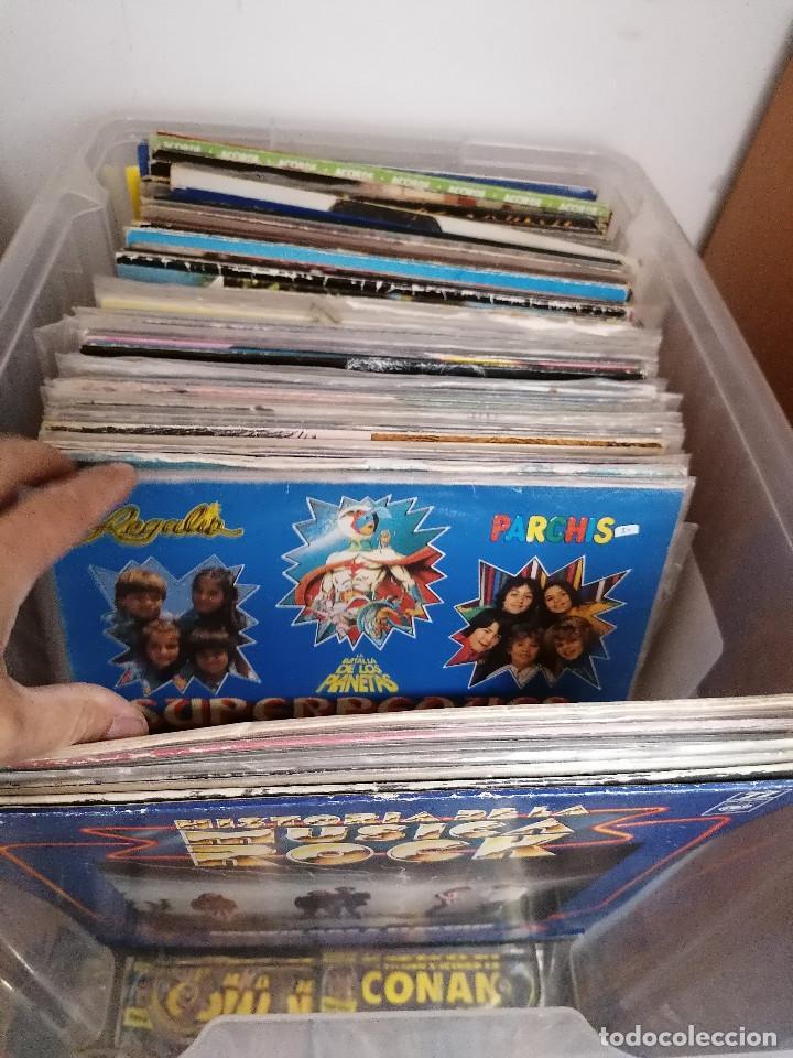 Discos de vinilo: gran caja de discos lote de 105 discos varios estilos todos LP - Foto 7 - 261105850