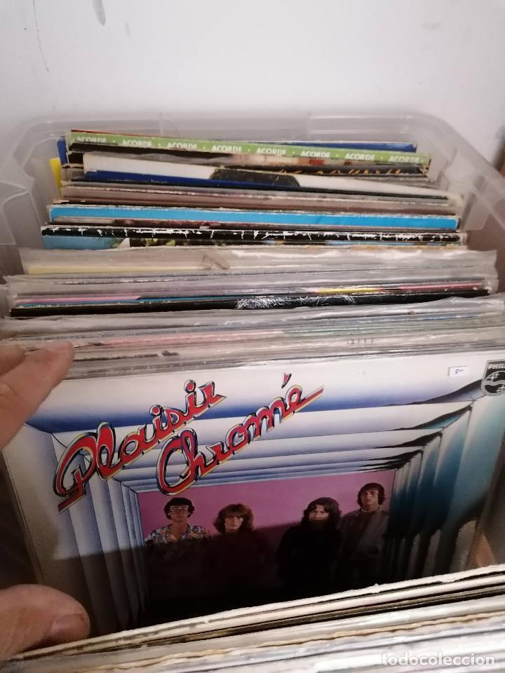Discos de vinilo: gran caja de discos lote de 105 discos varios estilos todos LP - Foto 11 - 261105850