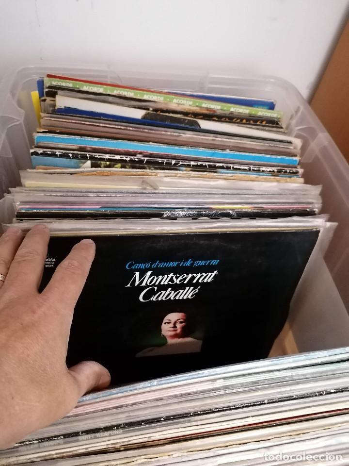 Discos de vinilo: gran caja de discos lote de 105 discos varios estilos todos LP - Foto 15 - 261105850