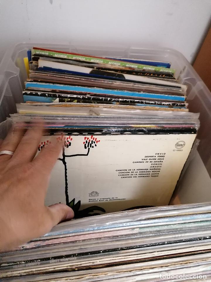 Discos de vinilo: gran caja de discos lote de 105 discos varios estilos todos LP - Foto 17 - 261105850