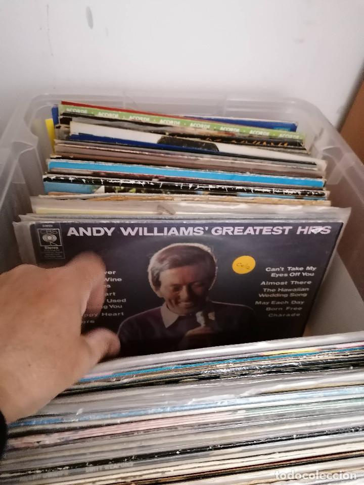 Discos de vinilo: gran caja de discos lote de 105 discos varios estilos todos LP - Foto 20 - 261105850