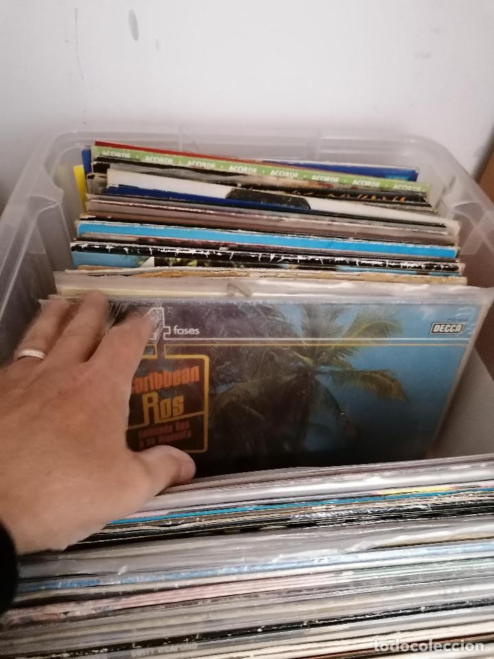 Discos de vinilo: gran caja de discos lote de 105 discos varios estilos todos LP - Foto 22 - 261105850