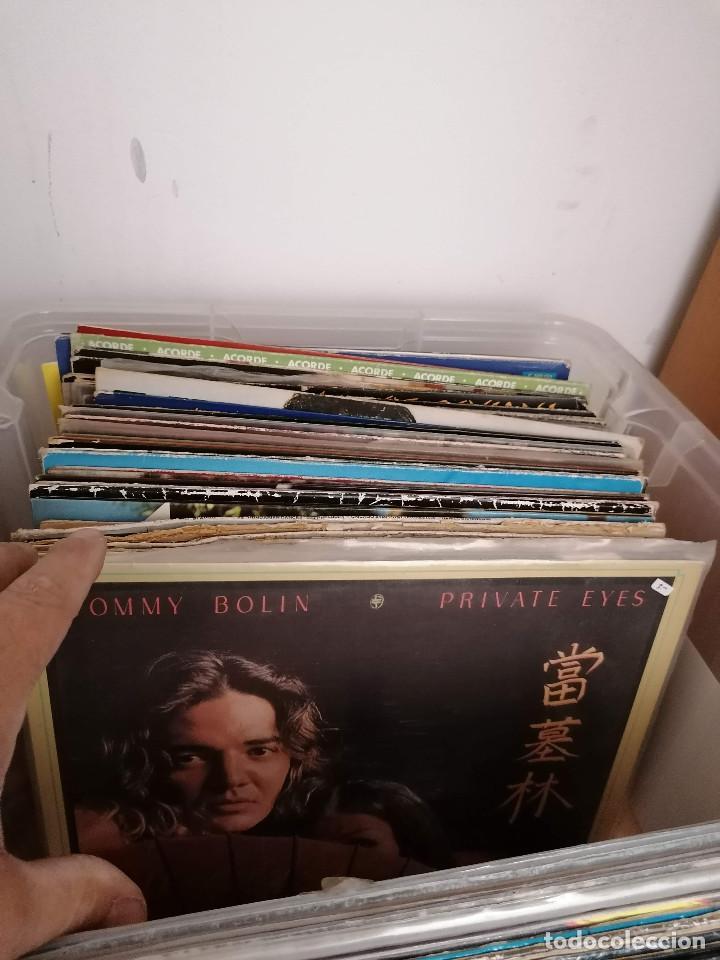 Discos de vinilo: gran caja de discos lote de 105 discos varios estilos todos LP - Foto 24 - 261105850