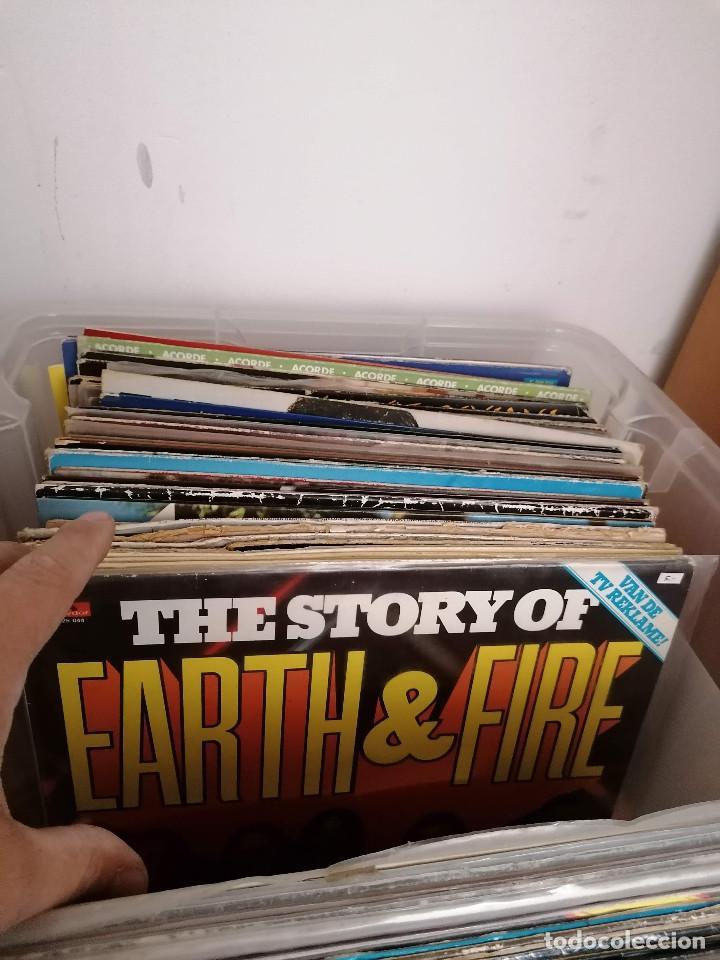 Discos de vinilo: gran caja de discos lote de 105 discos varios estilos todos LP - Foto 25 - 261105850