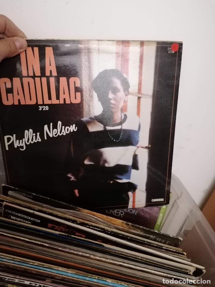 Discos de vinilo: gran caja de discos lote de 105 discos varios estilos todos LP - Foto 48 - 261105850