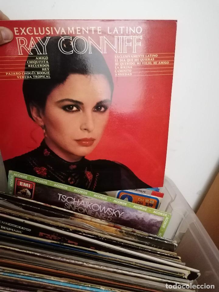 Discos de vinilo: gran caja de discos lote de 105 discos varios estilos todos LP - Foto 49 - 261105850