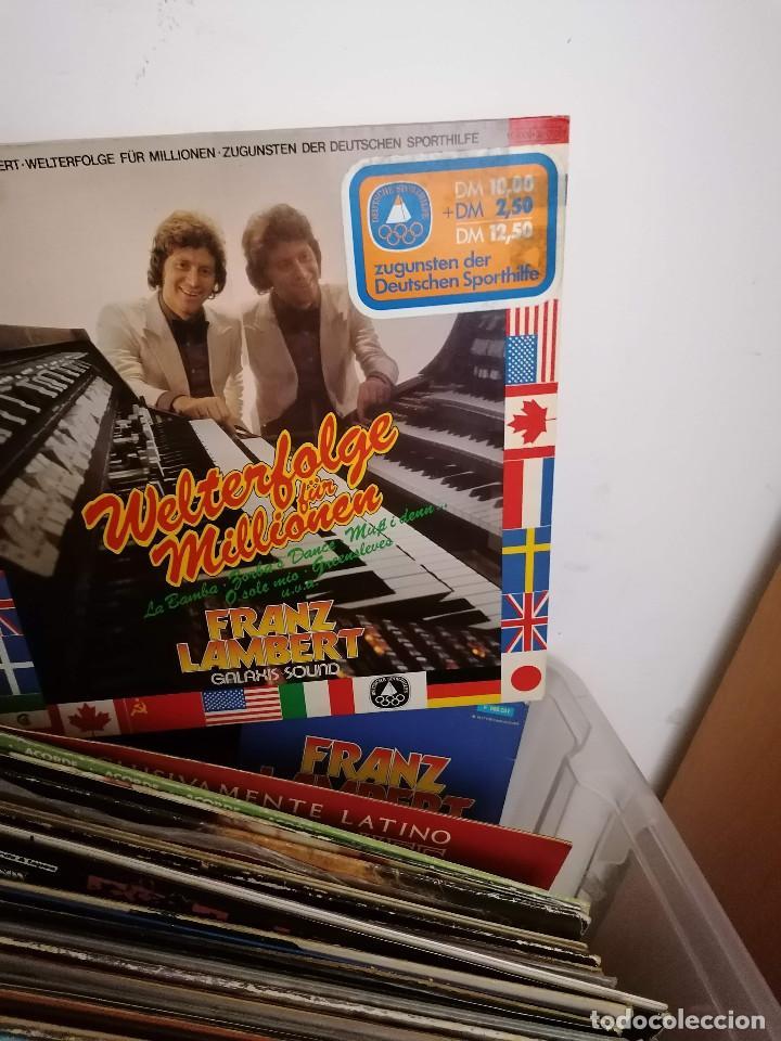 Discos de vinilo: gran caja de discos lote de 105 discos varios estilos todos LP - Foto 50 - 261105850