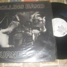 Discos de vinilo: ROLLINS BAND - TURNED ON DOBLE LIVE (1990 QUARTERSTICK RECORDS ?– QS0002) OG USA. Lote 261108365