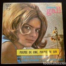 Discos de vinilo: FRANCE GALL (EP. EUROVISION 1965) POUPEE DE CIRE, POUPEE DE SON (1º PREMIO FRANCE). Lote 261118915
