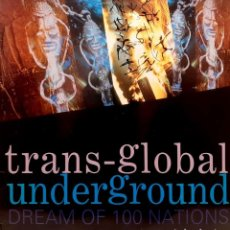 Discos de vinilo: TRANSGLOBAL UNDERGROUND ‎– DREAM OF 100 NATIONS. Lote 261119130