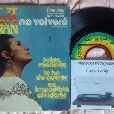Discos de vinilo: LOLA BELTRAN. Lote 261125870