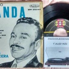 Discos de vinilo: BIENVENIDO GRANDA. Lote 261131750