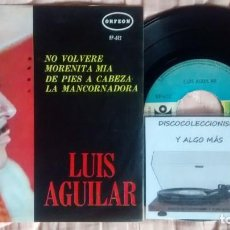 Discos de vinilo: LUIS AGUILAR. Lote 261134035