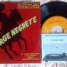 Discos de vinilo: JORGE NEGRETE. Lote 261138065