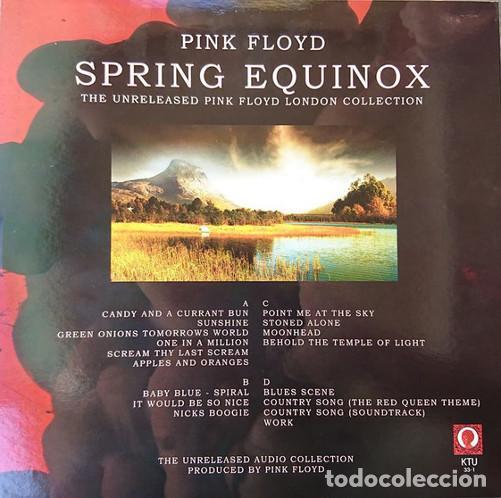 Discos de vinilo: 2 LP PINK FLOYD - Spring Equinox (The Unreleased Pink Floyd London Collection) KTU 33-1 - NUEVO !!!* - Foto 2 - 261145935
