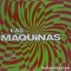 Discos de vinilo: LAS MÁQUINAS * LP VINILO * 1992 EPIC * FUNDA INTERIOR CON TEXTO E IMÁGENES * RARE. Lote 261147745