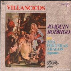 Discos de vinilo: JOAQUIN RODRIGO - VILLANCICOS - POR ANA HIGUERAS ARAGON / EP TEMPO 1966 RF-4917. Lote 261152100