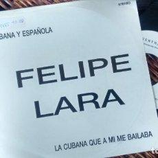 Discos de vinilo: SINGLE( VINILO) -PROMOCION-DE FELIPE LARA AÑOS 90. Lote 261158580