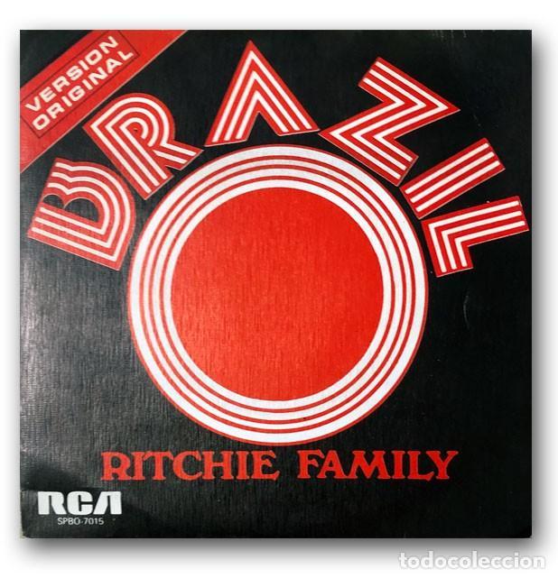 RITCHIE FAMILY - BRAZIL (Música - Discos - Singles Vinilo - Funk, Soul y Black Music)