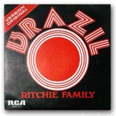 Discos de vinilo: RITCHIE FAMILY - BRAZIL. Lote 261167855