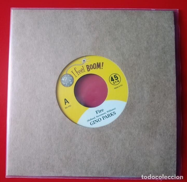 SINGLE GINO PARKS / AL GARRIS. SOUL (Música - Discos - Singles Vinilo - Funk, Soul y Black Music)