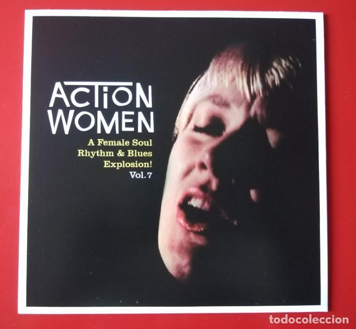 EP SOUL ACTION WOMEN. VOL. 7 (Música - Discos de Vinilo - EPs - Funk, Soul y Black Music)