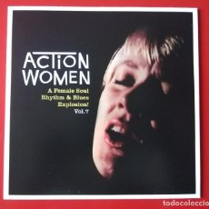 Discos de vinilo: EP SOUL ACTION WOMEN. VOL. 7. Lote 261170765