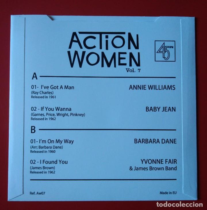 Discos de vinilo: EP Soul Action Women. Vol. 7 - Foto 2 - 261170765