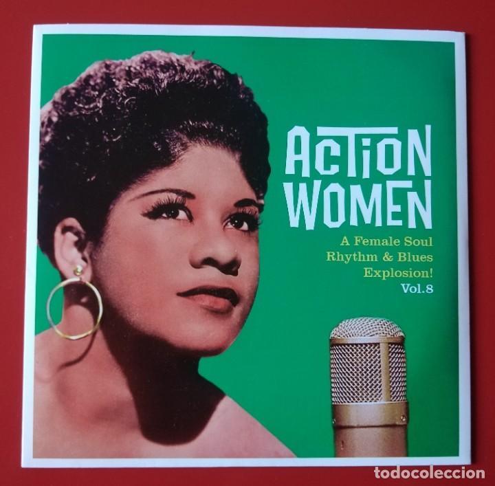 EP SOUL ACTION WOMEN, VOL. 8 (Música - Discos de Vinilo - EPs - Funk, Soul y Black Music)