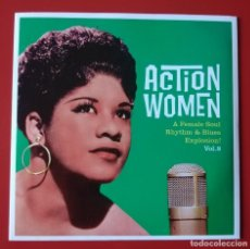 Discos de vinilo: EP SOUL ACTION WOMEN, VOL. 8. Lote 261171640