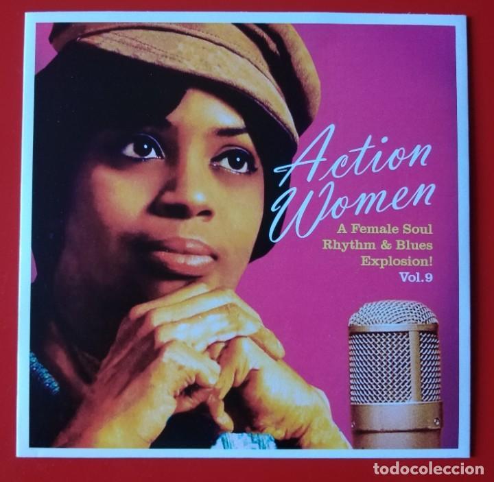 EP SOUL ACTION WOMEN, VOL. 9 (Música - Discos de Vinilo - EPs - Funk, Soul y Black Music)