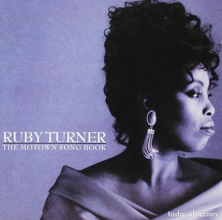 RUBY TURNER * LP VINILO * THE MOTOWN SONG BOOK * SPAIN 1989 GATEFOLD (Música - Discos - LP Vinilo - Funk, Soul y Black Music)
