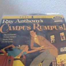 Discos de vinilo: RAY ANTHONY.** CAMPUS RUMPUS ! **. Lote 261190620