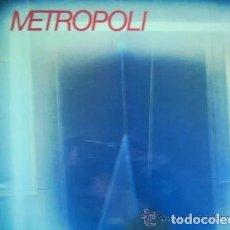 Discos de vinilo: METROPOLI * LP VINILO * 1986 * SIN TREGUA * INSERT * MERMELADA / RIGOR MORTIS * RARE!!. Lote 261191415