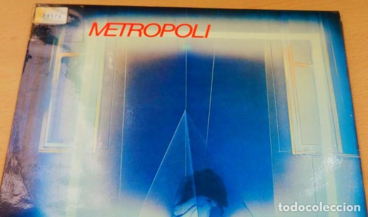 Discos de vinilo: METROPOLI * LP Vinilo * 1986 * Sin tregua * Insert * Mermelada / Rigor Mortis * RARE!! - Foto 6 - 261191415