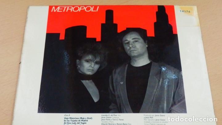 Discos de vinilo: METROPOLI * LP Vinilo * 1986 * Sin tregua * Insert * Mermelada / Rigor Mortis * RARE!! - Foto 7 - 261191415