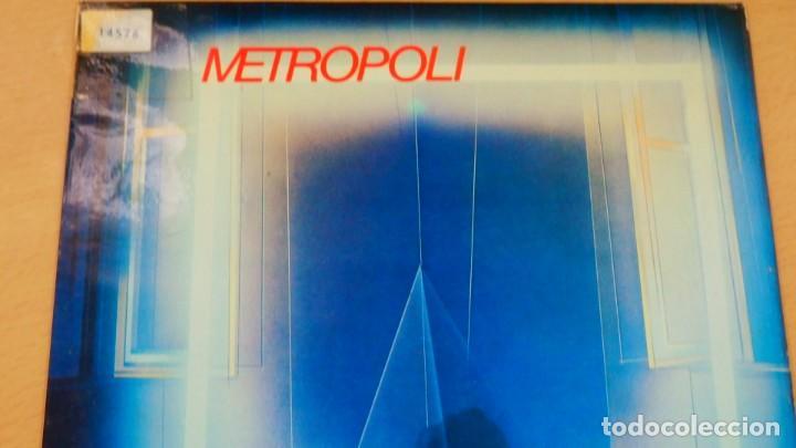 Discos de vinilo: METROPOLI * LP Vinilo * 1986 * Sin tregua * Insert * Mermelada / Rigor Mortis * RARE!! - Foto 8 - 261191415