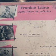 Discos de vinilo: FRANKIE LAINE.** CANTA TEMAS DE PELÍCULAS**. Lote 261193615