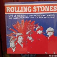 Discos de vinilo: ROLLING STONES -LIVE AT THE HAWAII INTERNATIONAL CENTER, HONOLULU, JULY 28 1966-LP VINILO PRECINTAD. Lote 261196065