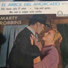 Discos de vinilo: EL ÁRBOL DEL AHORCADO.** MARTY ROBBINS**. Lote 261196655