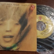 Discos de vinilo: THE ROLLING STONES. ANGIE / SILVER TRAIN. 1973. SPAIN. Lote 261200605