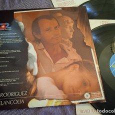 Discos de vinilo: SILVIO RODRÍGUEZ LP. OH MELANCOLIA. MADE IN SPAIN. 1988. Lote 261205410