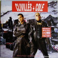 Discos de vinilo: CLIVILLÉS & COLE * 2LP * GREATEST REMIXES VOL. 1 * SPAIN 1992. Lote 261206565