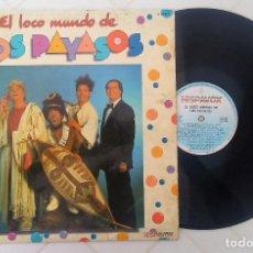 Discos de vinilo: EL LOCO MUNDO DE LOS PAYASOS HISPAVOX 1982. Lote 261208870